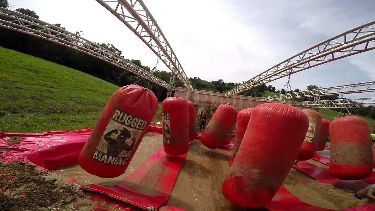 rugged maniac 5k obstacle race kansas city 2016 - youtube
