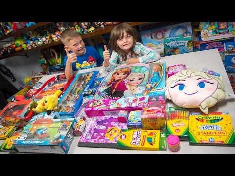 HUGE School is Cool Surprise Giveaway Toys for Boys & Girls Blind Bags Surprise Eggs Kinder Playtime