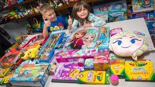 HUGE School is Cool Surprise Giveaway Toys for Boys & Girls Blind Bags Surprise Eggs Kinder Playtime
