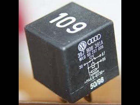 Vw Jetta Tdi Shutoff Valve And Relay 109 Diagnostic Youtube