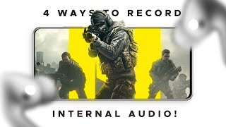 4 Ways to Record Internal Audio on Android WITHOUT ROOT