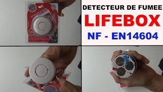 détecteur de fumée lifebox mts-166s/5y NF EN14604