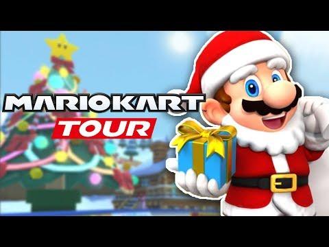 Mario Kart Tour - Part 18: F2P NEW WINTER TOUR CUPS!   Winter Tour (Android & IOS)