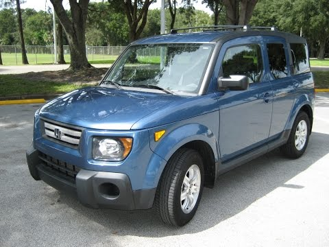 2008 HONDA ELEMENT EX CARFAX 1 OWNER NO ACCIDENTS FL CAR READY TO GO