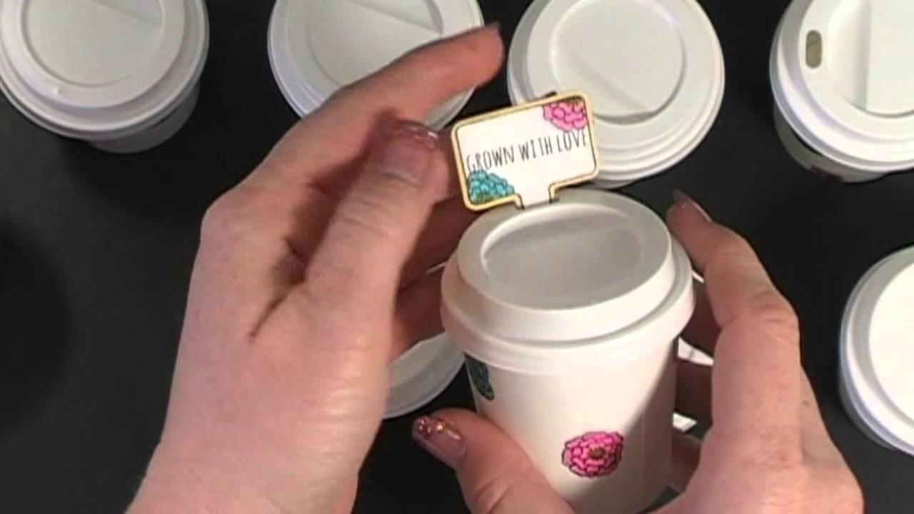 Mini Coffee Cups Fun With My Friend