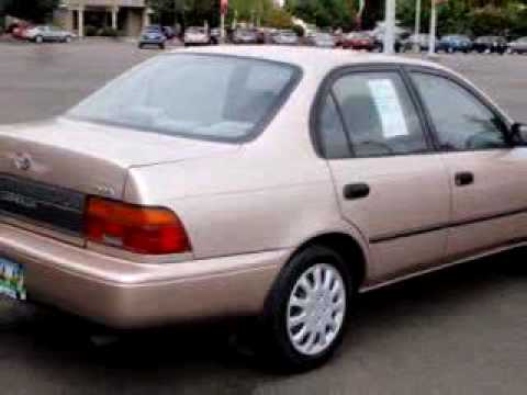 Sold 1994 Toyota Corolla Dx 97306 Capitol Toyota New And