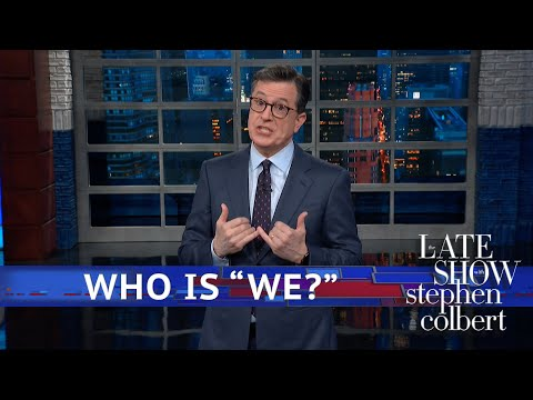 Video: Stephen Colbert had to remind Donald Trump that he does not work for Fox News