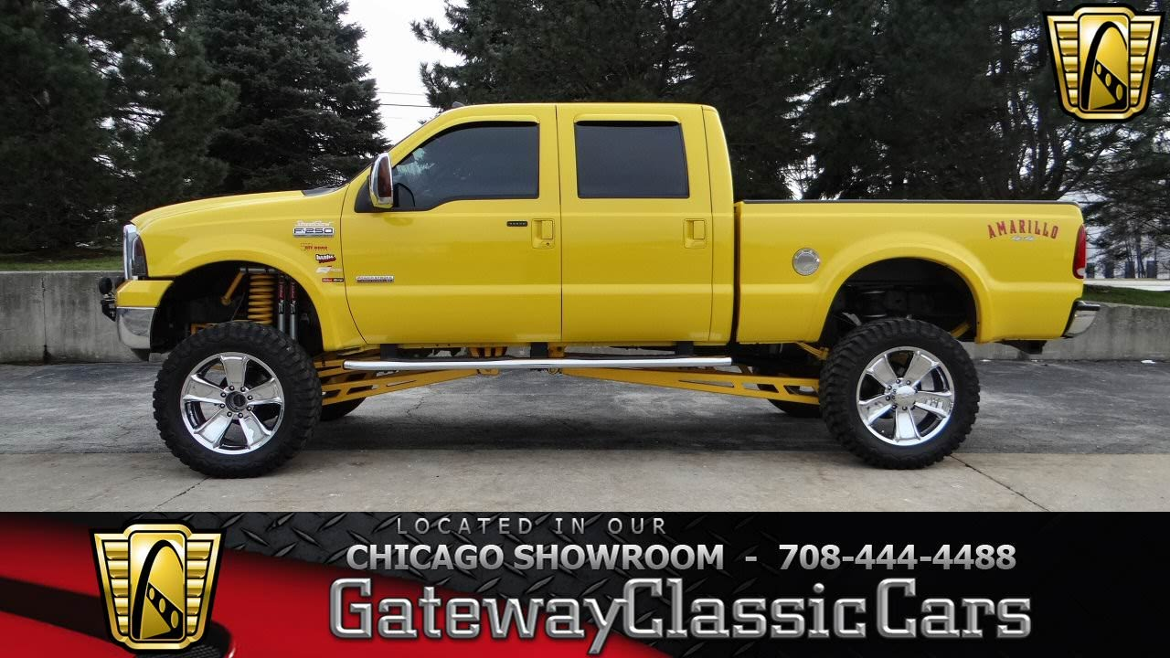 2006 ford f 250 amarillo gateway classic cars chicago 902 youtube. Black Bedroom Furniture Sets. Home Design Ideas