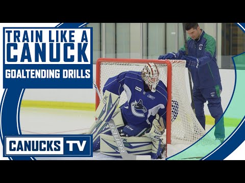 Goaltending Drills – Train Like a Canuck