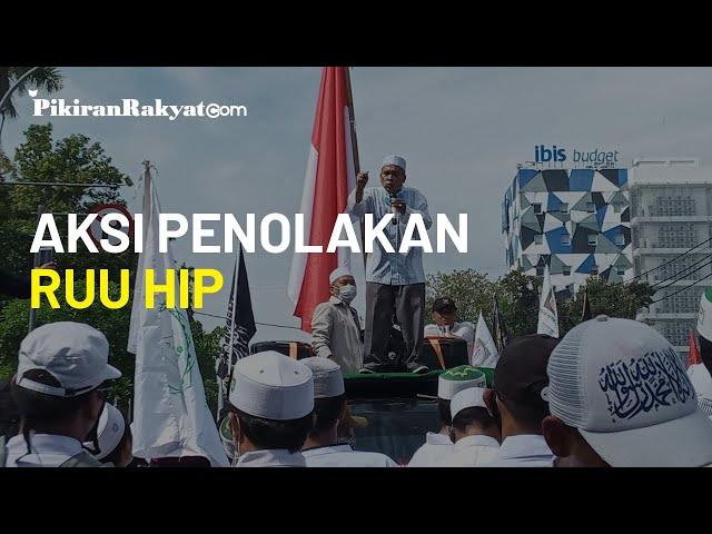 Terima Aksi Penolakan RUU HIP, DPRD Kota Cirebon Berjanji Sampaikan ke DPR-RI
