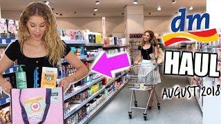 Neuer DM HAUL! August 2018 - Das hab ich alles gekauft ♡ BarbaraSofie