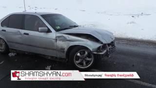 Շղթայական ավտովթար Արագածոտնի մարզում  բախվել են Mercedes ը, BMW ն ու 06 ը