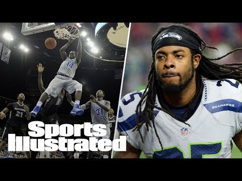 March Madness Players To Watch, Richard Sherman's 49ers Decision | LIVE | Sports Illustrated