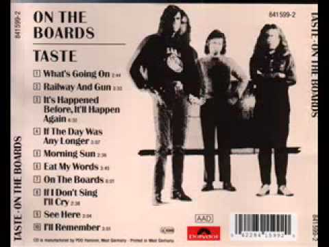 TASTE  On The boards 1970 Full Album