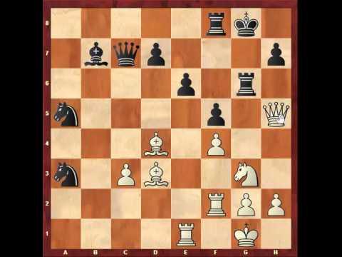 Chess: King's Indian game Susan Polgar 2550 - Ivan Sokolov 2625 http://sunday.b1u.org