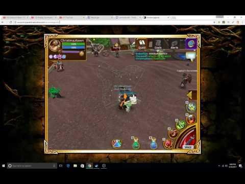 Im LiveStreaming Arcane Legends On Twitch.tv