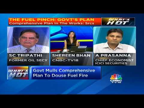 A Prasanna Of ICICI Sec & Fmr Oil Secy SC Tripathi On Oil Prices