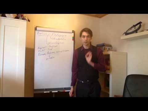 Pädagogik - Notwendige Basics (Grundwissen)