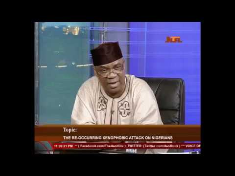NTA: MFA Permanent Secretary: Enikanolaiye on Xenophobia in South Africa and Nigeria's Stand