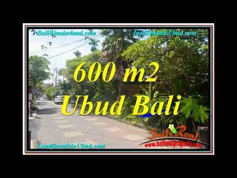 Exotic 600 m2 LAND IN Sentral / Ubud Center BALI FOR SALE TJUB644