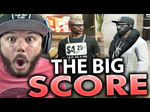 GTA 5 Online - THE BIG SCORE HEIST - FUNNY MOMENTS | Part 41 (GTA 5 ONLINE)