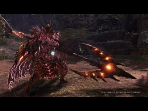 Monster Hunter World Iceborne Safi Jiiva Armor And Insect Glaive