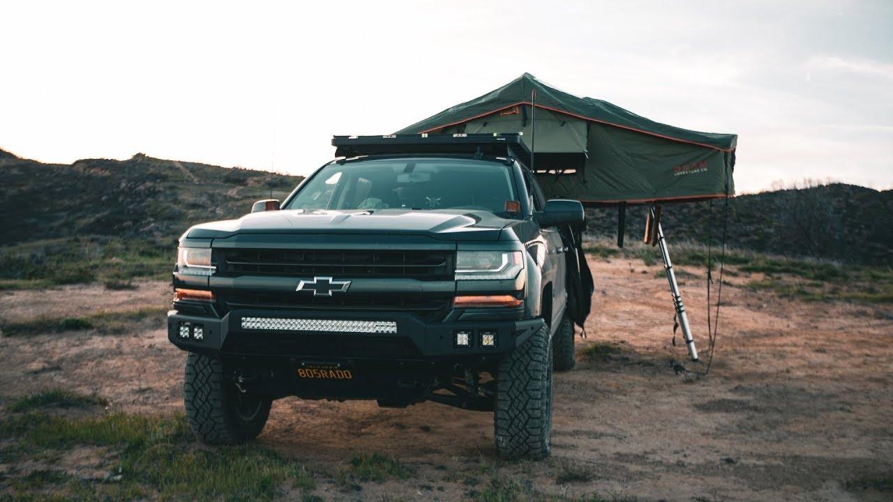 Build A Chevy Truck >> Chevy Silverado Camping Overland Build