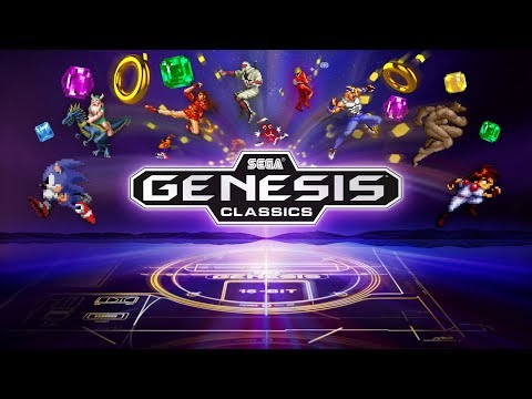 SEGA Genesis Classics is coming to PS4 and Xbox One!