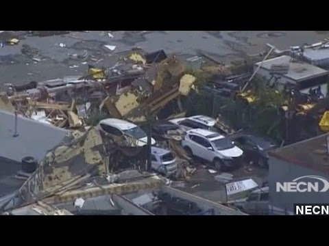 Tornado Rips Through Boston Suburb In Rare Weather Event