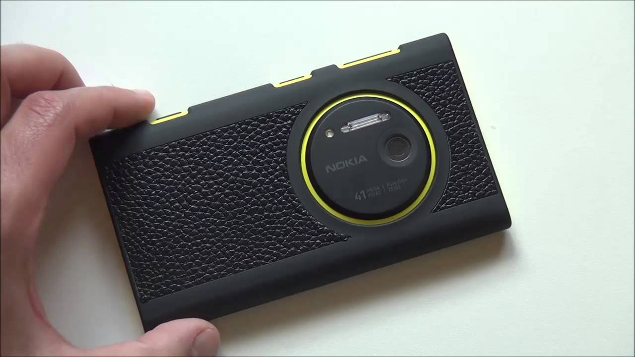 Agf Leather Shell Case For The Nokia Lumia 1020 Youtube