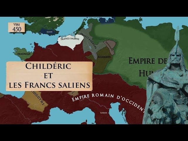 Les Francs saliens, Childéric et l'héritage de Rome