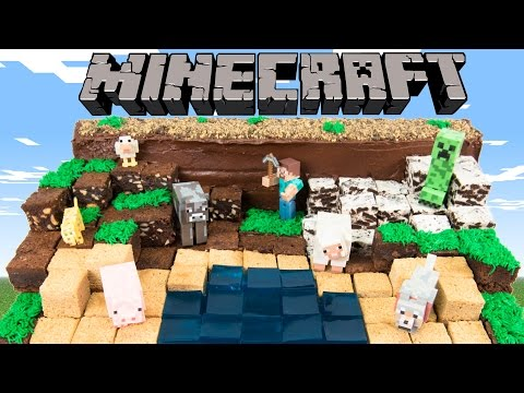 How To Make Minecraft Cake From Co Es Cupcakes And Cardio