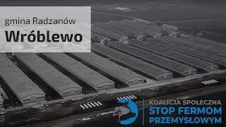 Mieszkańcy gminy Radzanów mówią dość ekspansji ferm przemysłowych