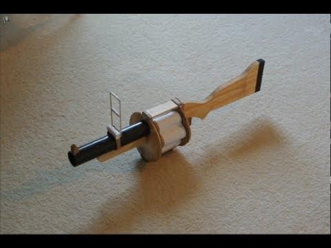 Demoman Grenade Launcher Replica (Team Fortress 2)