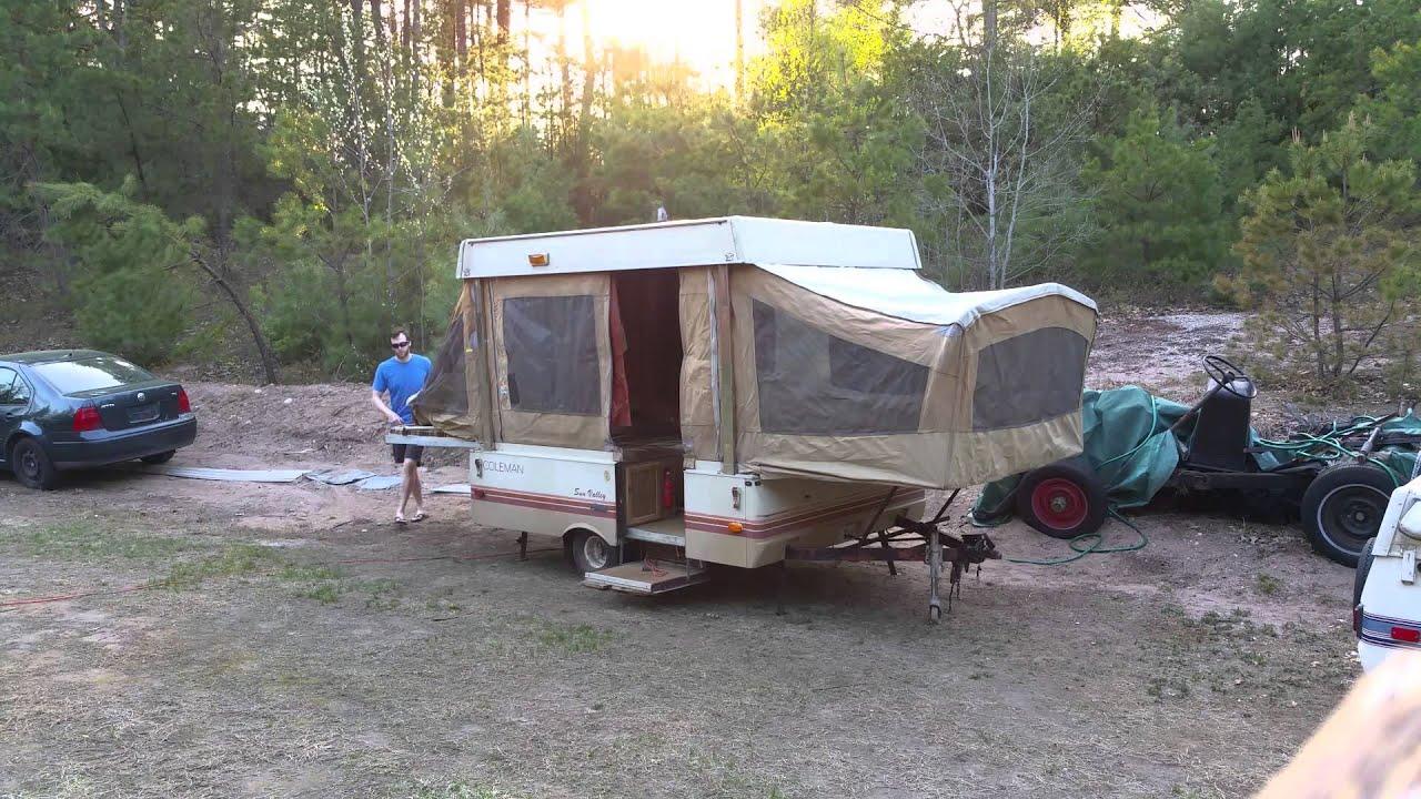 Starcraft Pop Up Camper Remodel