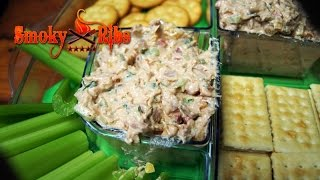 Smoked Tuna Dip Recipe ~ Football Party Appetizer