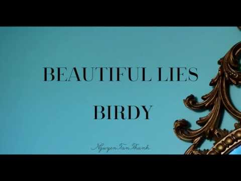Beautiful Lies ( Birdy) Karaoke instrumental with lyrics