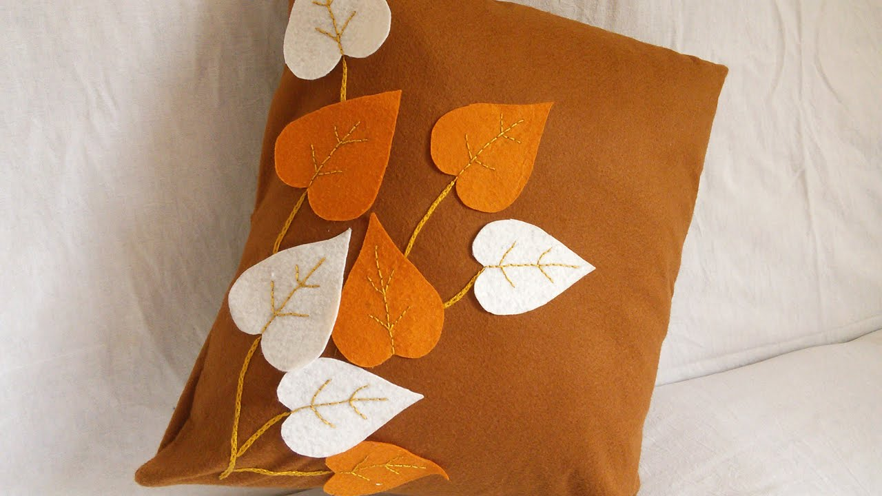 Cushion Cover Ideas Decorative Throw Pillows Handiworks 54 Youtube