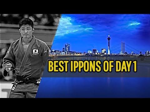 Best ippons in day 1 of Judo Grand Slam Dusseldorf 2019