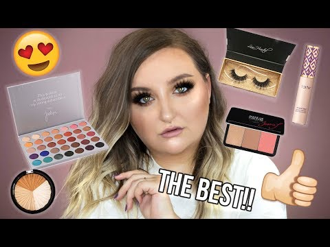 FULL FACE OF HOLY GRAIL MAKEUP   PRODUCTS I CAN'T LIVE WITHOUT - TUTORIAL