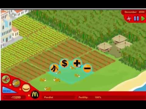 McdonaldsVideoGame Gameplay (Puffgames.com)
