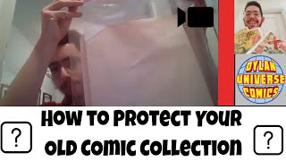How to Sell your Comic Collection: Protecting your Comics | Sell Comics Online with Dylan Universe