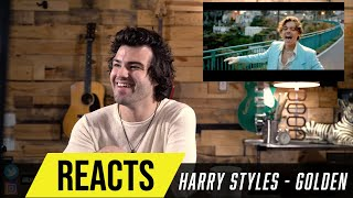 Producer Reacts to Harry Styles - Golden