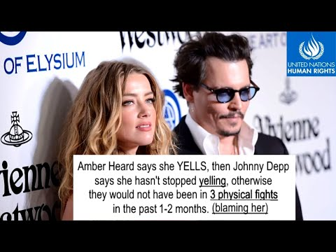 Amber Heard's Side (AUDIO 1) - Johnny Depp Domestic Violence - Leave Abuse (2015)