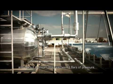 Industrial Solar Steam Generation Jordan Video