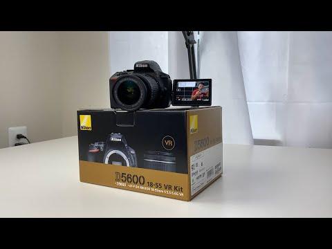 Nikon D5600 Unboxing