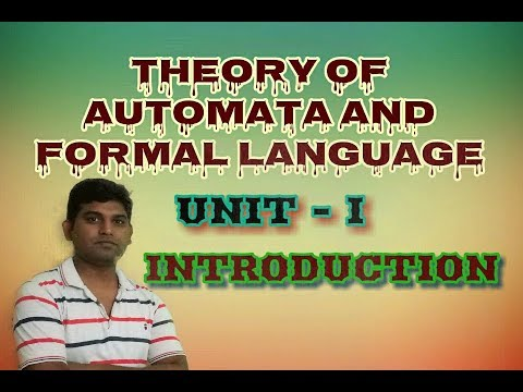 L3:Theory of Automata in Hindi & Formal Language (TAFL/TOC) Introduction to automata  chomsky