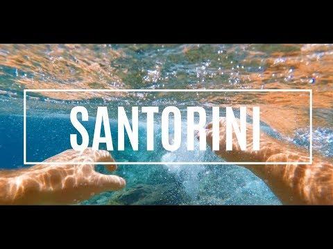 This is Santorini 2017 - Aegean Sea 4k