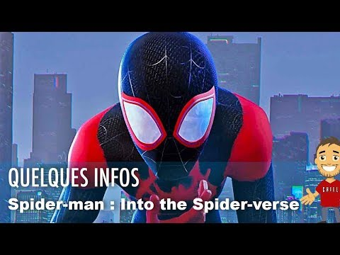 Spider-man Into the spider-verse : quelques informations