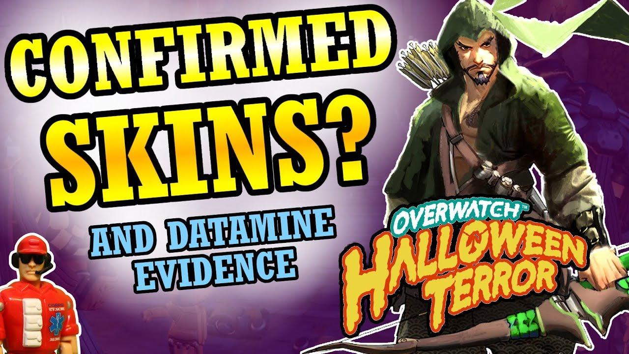 Overwatch - New Hanzo & Zarya Skins? (2017 Halloween Event) - YouTube